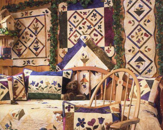 Free Us Ship Anne's Quilt Loft ALL THINGS SPRING 2003 20 page book Out of Print  Craft Sewing Pattern