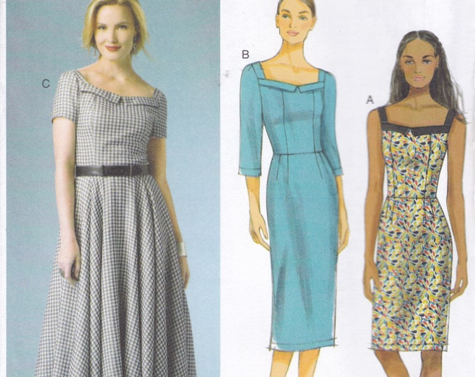 FREE US SHIP Butterick 5984 Sewing Patterns Lined Dress  150th Anniversary Size 8/16 16/24 Bust 30 32 34 36 38 40 42 44 46 Factory Folded