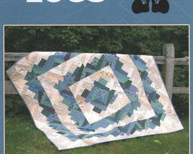 Free Usa Shipping Little Miss Sloppy Quilt Craft Sewing Pattern Boston Logs 2002