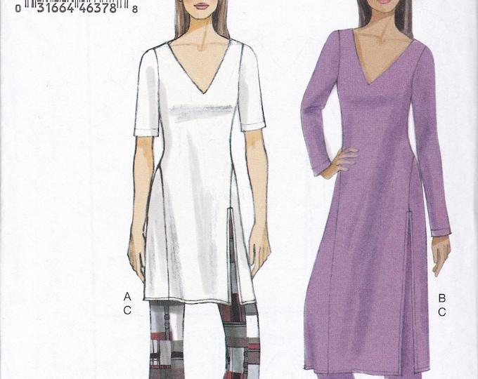FREE US SHIP Vogue 9159 Tunic Blouse Wide Leg pants Size 4 6 8 10 12 14 Bust 29.5 30.5 31 32.5 34 36  Sewing Pattern New Loungewear