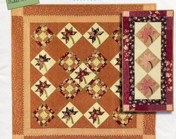 Free Us ShipBunny Hill Designs Maple Syrup Quilt 1058 2005 New Condition Craft Sewing Pattern