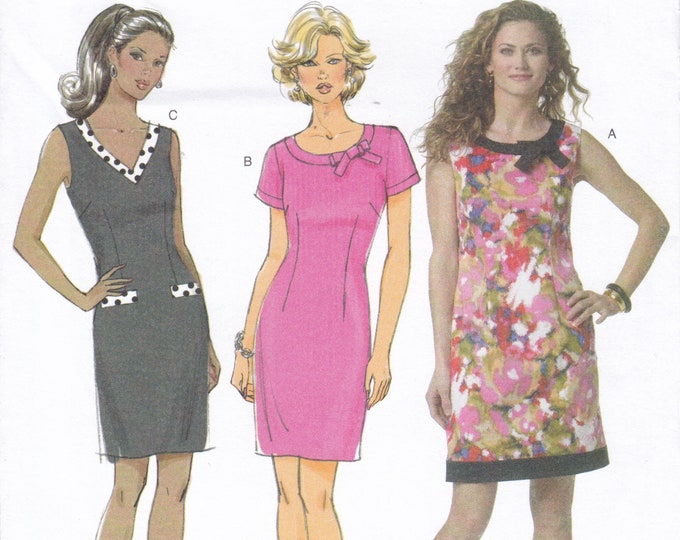 FREE US SHIP Butterick 5602 150th Anniversary Fitted Lined Dress Size 8 10 12 14  Bust 31 32 34 36 8/14 Sewing Pattern New ff