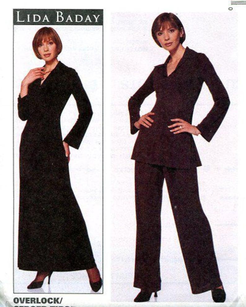 Sewing Pattern Designer McCall's 8557 Lida Baday Retro 90s image 0