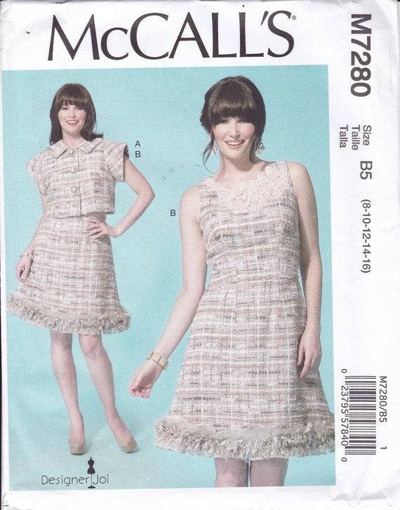 FREE US SHIP McCall\'s 7280 Sewing Pattern Dress Jacket   Etsy