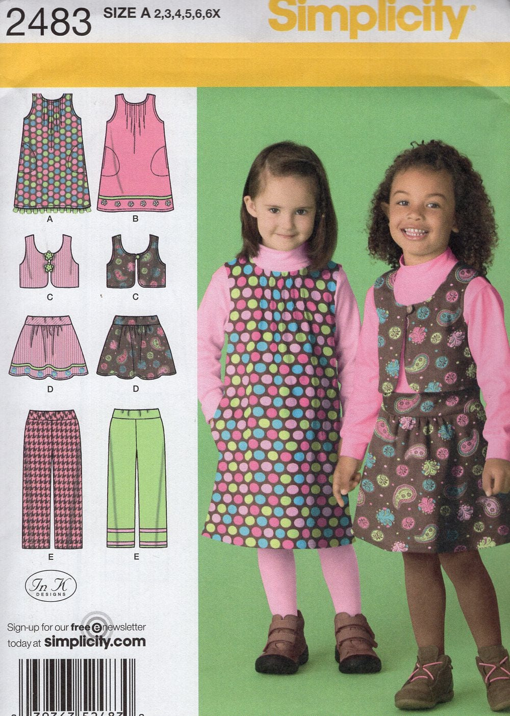 68799008f1052f ... Dress Pants Bolero In K Designs Size 2 3 4 5 6 6x Sewing Pattern Uncut  New. gallery photo gallery photo