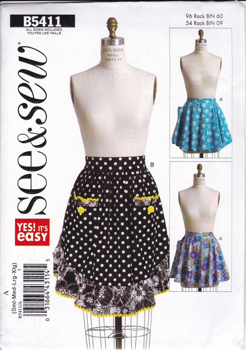 New Sewing Pattern Free Us Ship  Butterick 5411 See & Sew Out image 0