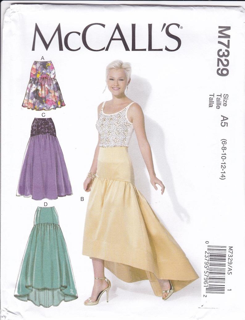Sewing Pattern McCall's Pattern 7329  Drop Waist  Evening image 0