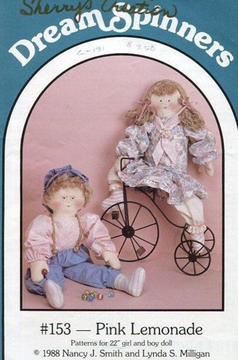 Sewing Pattern Dream Spinners 153 Pink Lemonade Boy or Girl image 0