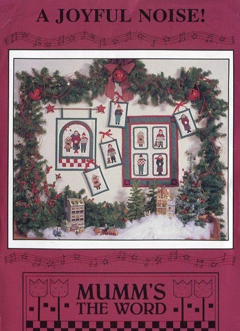 Sewing Pattern Debbie Mumm's the Word Christmas A Joyful image 0