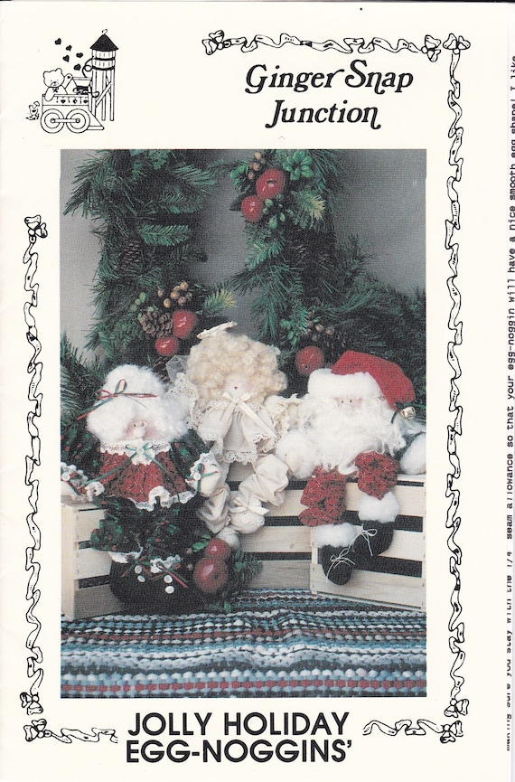 Free Us Ship Out Of Print Unused Craft Christmas Santa Claus Etsy