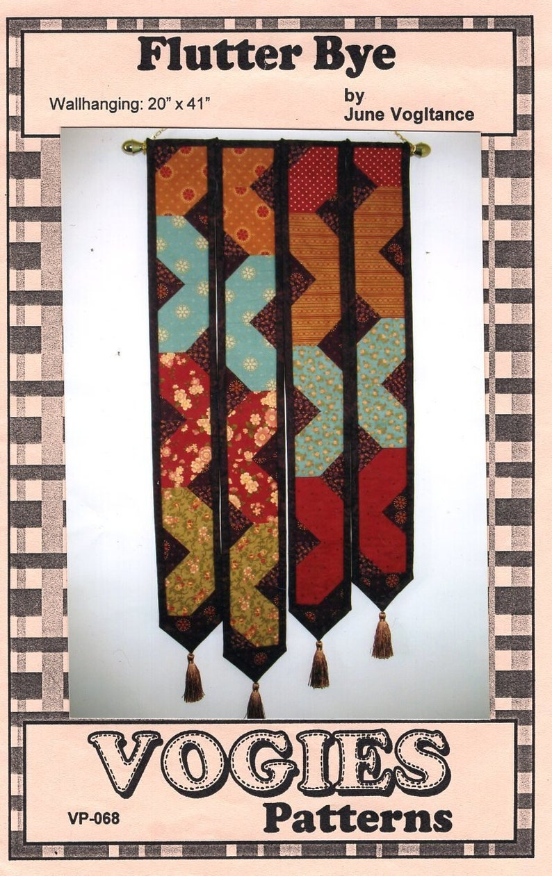 Sewing Pattern Vogies Patterns Flutter Bye Designer June image 0