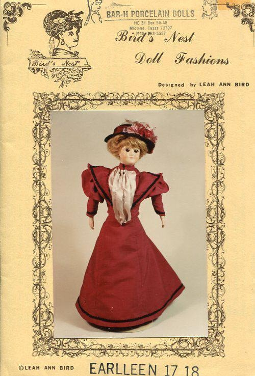 FREE US SHIP Bird\'s Nest Doll Fashions Earlleen 17 18 inch Lady Doll ...