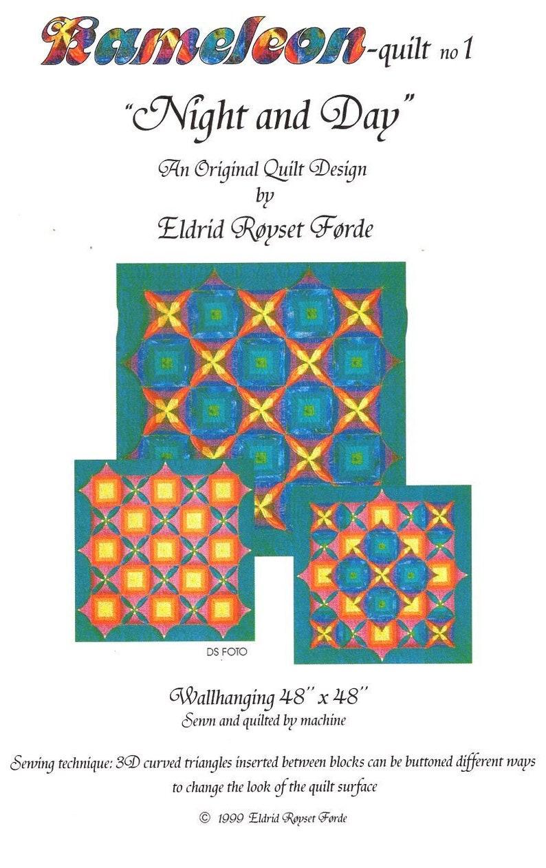 Sewing Pattern Eldrid Royset Forder Designer Kameleon quilt No image 0