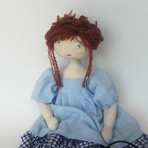 Small vintage tutorials in English pdf format rag doll Patron,pattern book-boss in PDF for model textile doll