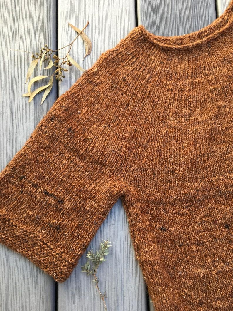 8ebae3bd1 KNITTING PATTERN Chill Shift easy jumper sweater TJD21