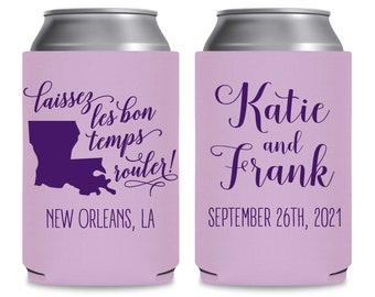Winery Wedding Can Coolers Personalized Map Custom Wedding Favors Vineyard Wedding Bridal Shower Decor Custom Wedding Party Favors Cheers 5A