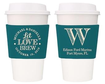 Let love brew coffee lovers bandana