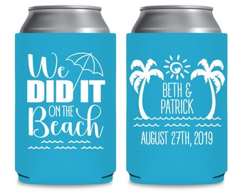 12 pack of custom drink coolers can cooler drink holders for bachelor party,party favors,cruises can hugger beach,weddings,bachelorette