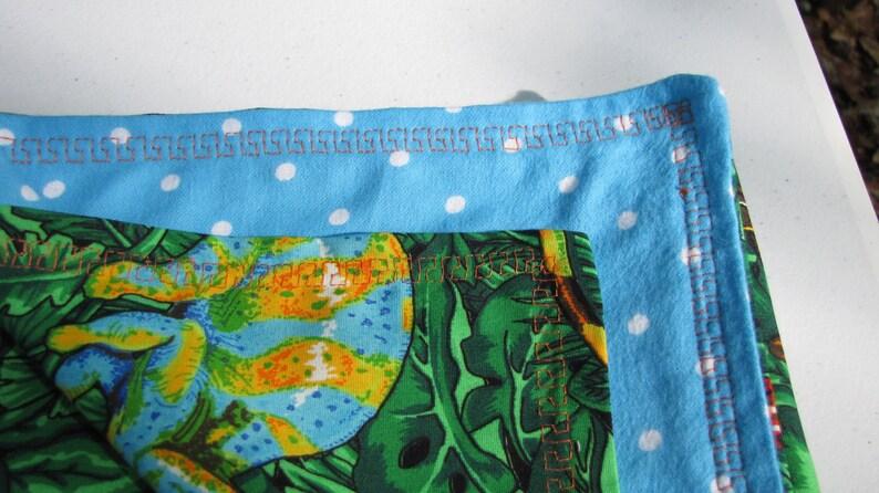 BoyGirl Design Your Own Custom Handmade Cotton Reversible Blanket for Babies /& Toddlers