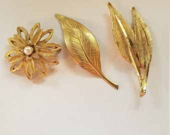 vintage Rolled gold vintage brooch stamped vintage brooch vintage jewellery