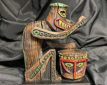 Giant Tiki inspired by the Enchanted Tiki Room Great Holiday Gift