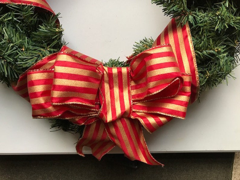 Harry Potter Inspired Holiday Wreath with Flying Keys and bow image 0