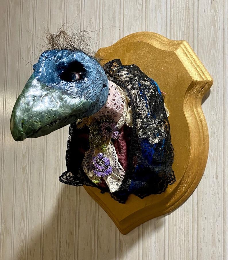 Skeksis Dark Crystal taxidermy Large Beak Variety image 0