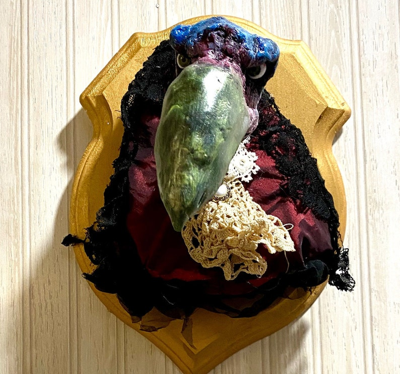 Skeksis Dark Crystal taxidermy long neck variety image 0