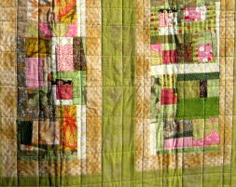 Gladys ~ a wall quilt