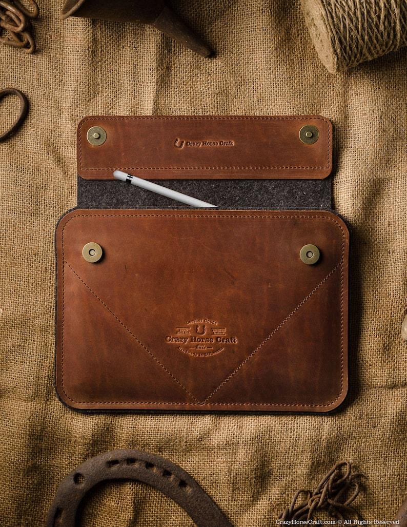 22e140d21 2018 iPad Pro 12.9 leather case sleeve iPad pro 11 iPad Air