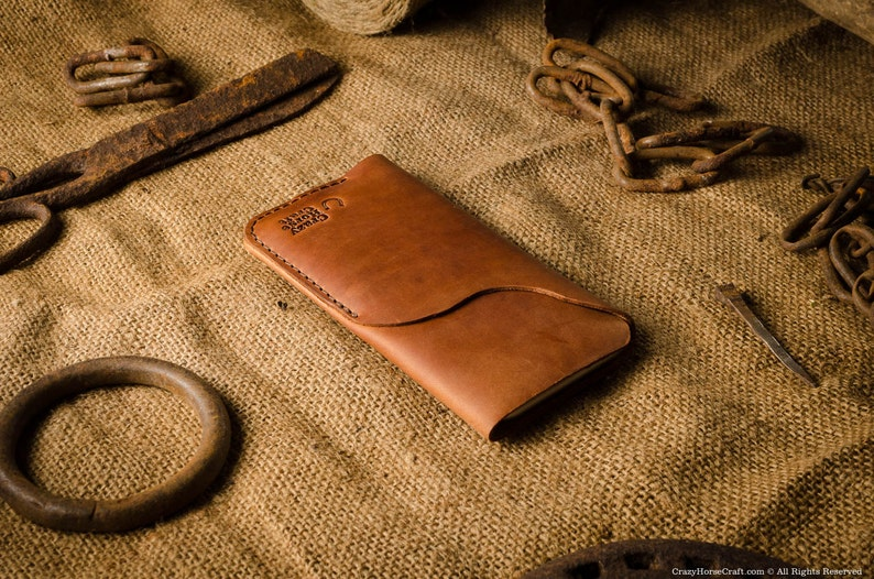 Leather iPhone 12 Pro Max wallet  case with card holder iPhone 12 Mini sleeve brown Crazy Horse leather iPhone 1211 ProXrXs Max cover