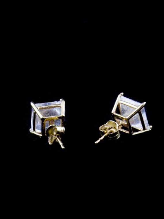 Diamond Stud Earrings - image 2
