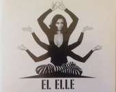 EL ELLE-Original Record-2011-Private Press Rare-SEALED-White Vinyl