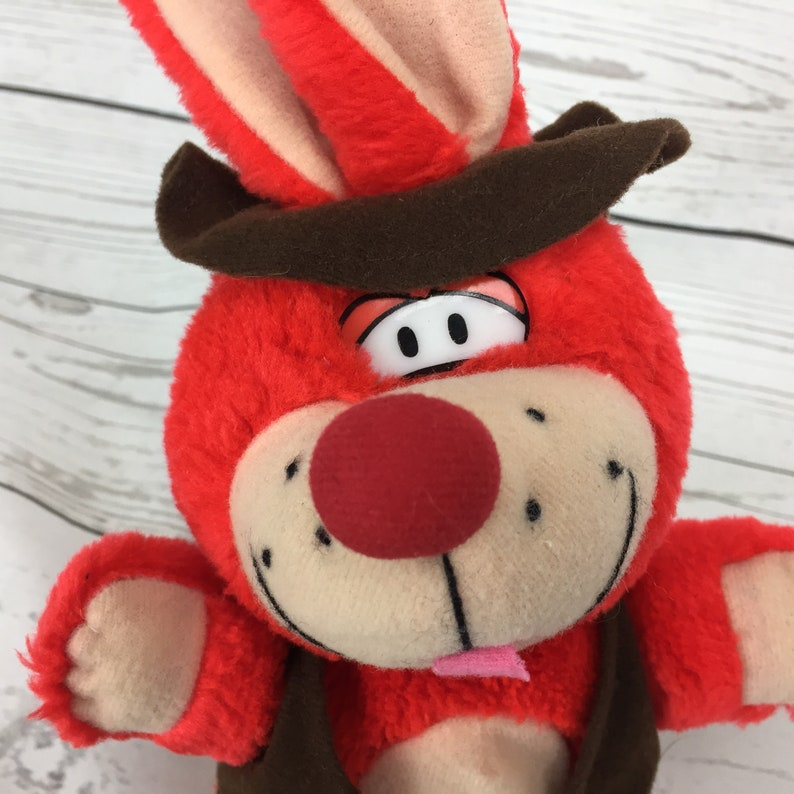 Rare Vintage Carnival Bunny Rabbit 10 Vest Hat Boots Pachinko Palace Plush