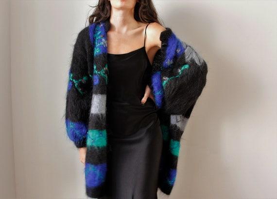 Vintage Mohair Cardigan | Wool Cardigan | Vintage