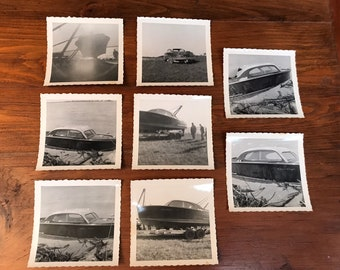 1950s Chris Craft Boat Collection of Photos