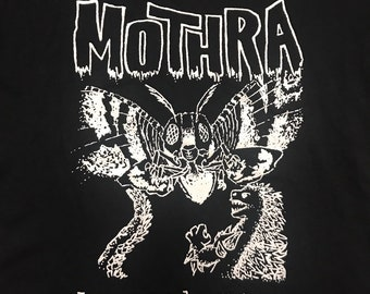 BALM God Made Her My Mothra Tee - out of print, Godzilla themed