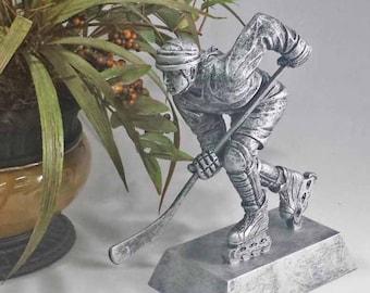 Female Inline Skate Award - Street Hockey Award - Silver Resin Trophy - Free Engraving