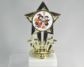 Halloween Costume Contest Trophy - Free Engraving, Fall Festival Award, Kids Award, Trick or Treat