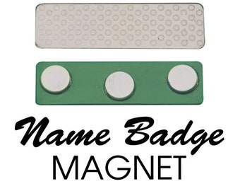 Additional Name Badge Magnet - 3 Post Magnet for Name Tags