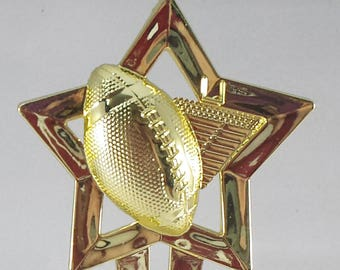 Football Star Trophy - Free Engraving, Football Award,  Unisex Football Trophy, Participation Award, Team Trophies