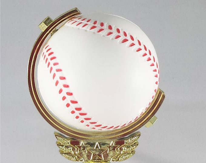 Featured listing image: Spinning Baseball Trophy - FREE ENGRAVING