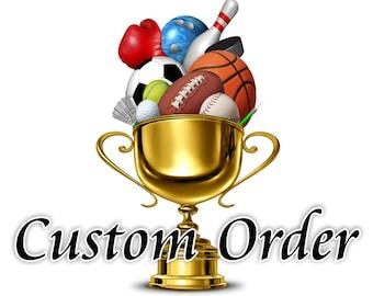 Custom Order for Jon Nix - Ordered by Carolyn Gallagher - TD Ameritrade