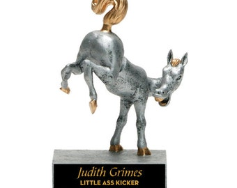 Horse's Rear Bobble Award - Horse's Rear Moves - Free Engraving - Gag Gift - Great for Fun Awards - Free Engraving