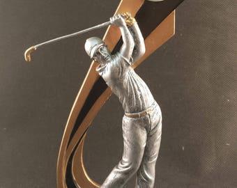 Live Action Golf Resin Award - Golf Trophy - Free Engraving - Individual Awards - Tournament Awards - Custom Engraving