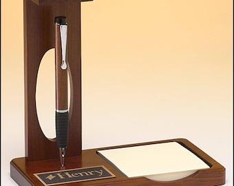 Floating Pen Set - Desk Set, Personalized Desk Set, Free Laser Engraving