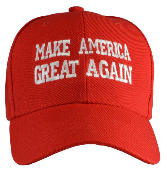 6535e7b7920 Make American Great Again Baseball Hat Donald Trump America