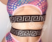 Glitter fishnet 2 piece, Exotic dancewear, Stripper outfits, Stripper clothes, pole dancer