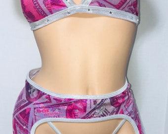 Exotic Dancewear Ready to ship 3 piece money set