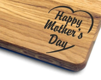 Mothers Day Gift Cutting Board. Gift for Mom, Gift for Her, Gift for Wife, Personalized, Engraved, Mother's Day